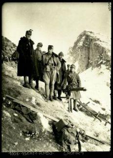 """1006.10Arm.Kmdo.(""""Rohr""""). Fotografia dell'esercito Austro-Ungarico"""