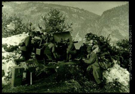 """1017.10Arm.Kmdo.(""""Rohr""""). Fotografia dell'esercito Austro-Ungarico"""