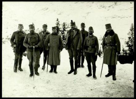 """1046.10Arm.Kmdo.(""""Rohr""""). Fotografia dell'esercito Austro-Ungarico"""
