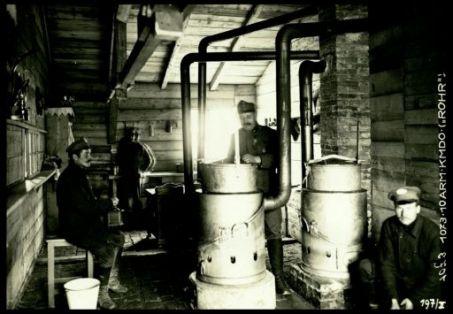 """1073.10Arm.Kmdo.(""""Rohr""""). Fotografia dell'esercito Austro-Ungarico"""