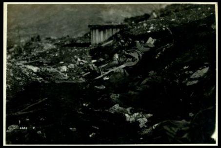 Feriti e morti austriaci, Bocchetto di fondo