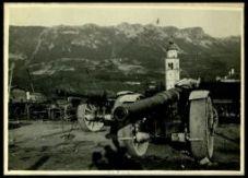 Cannoni e munizioni catturati agli austriaci a Gorizia