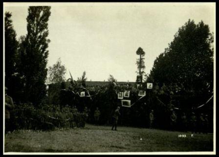 Lacenigo. 30 maggio 1918. Festa (palco dell'autorità)