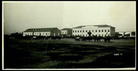 Lacenigo. 30 maggio 1918. Festa del 17° Artiglieria. Sfilamento di pezzi