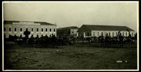Lacenigo. 30 maggio 1918. Festa del 17° Artiglieria. Il tiro alla fune