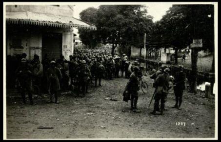 Fornaci. Il Comando di Brigata impartisce ordini ai reggimenti di rincalzo