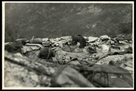 18 giugno 1918. In prima linea, sul Grappa
