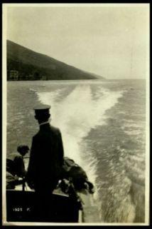 A bordo di un M.A.S. sul Garda