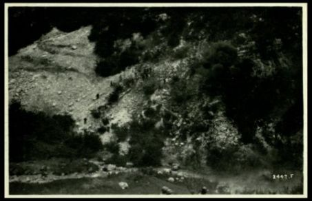 Esercitazioni di arditi in Val Lagarina