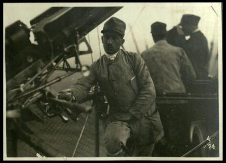 A bordo del dirigibile
