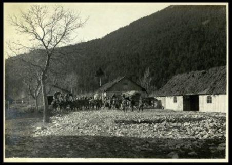 Baracche d'artiglieria a Ciman