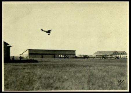Cerimonia del nastro azzurro, Aviano 22 luglio 1917: un nostro aeroplano