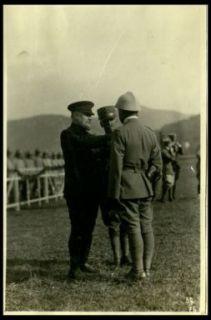 Premiazione di un ufficiale
