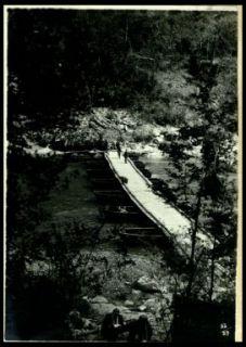 Ponte di barche sull'Isonzo presso Auzza
