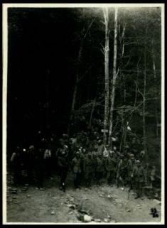 Prigionieri austriaci catturati sul Fratta