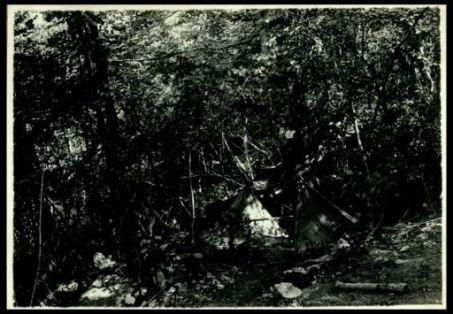 Accampamenti austriaci abbandonati sul Monte Fratta