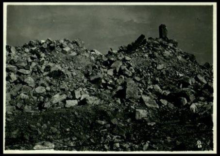 Rovine del convento di Monte Santo