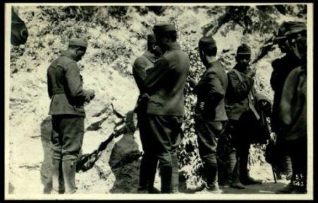 Prigionieri catturati sul Kuk (quota 711)