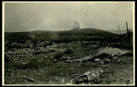 Carso: bombardamento austriaco di quota 235