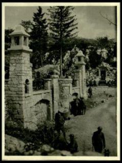 La grande fontana di Ravne costruita dagli austriaci