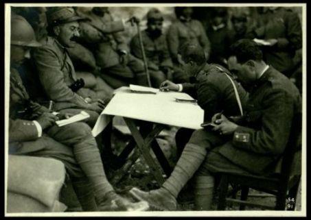 Un comando di Brigata sul Monte Santo