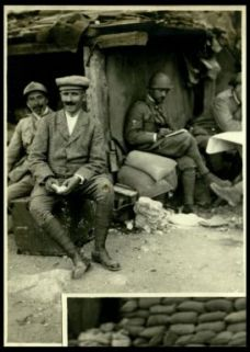 Il maestro A. Toscanini sul Monte Santo