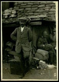 Il maestro Toscanini sul Monte Santo