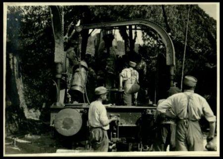 Batterie francesi al fronte italiano