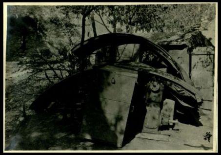 Materiali di guerra abbandonati dagli austriaci