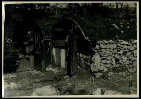 Ricoveri presso Bate abbandonati dagli austriaci