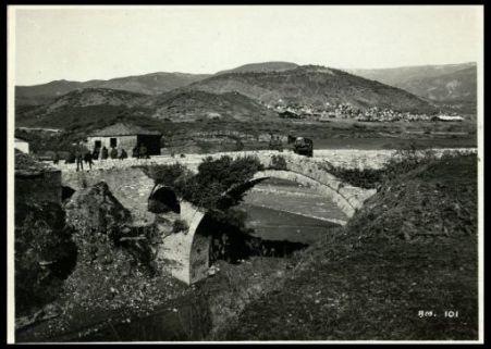 Il ponte di Clisura sulla Voiussa