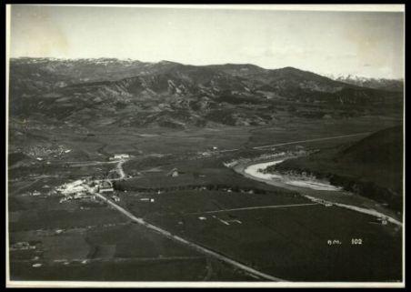 Panorama della piana di Clisura