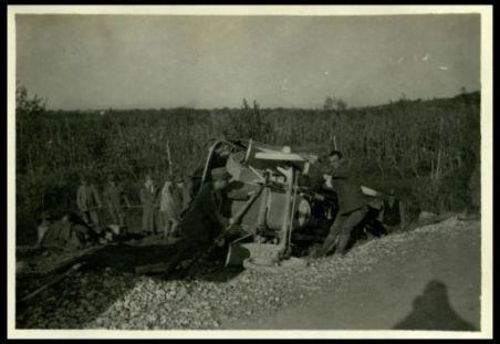 Cormons: camions rovesciati