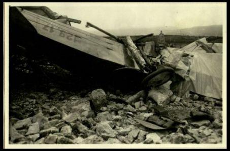 Aeroplano austriaco abbattuto sul S. Michele