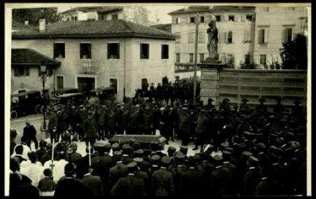 Funerale generale Chinotto: il discorso del Duca d'Aosta