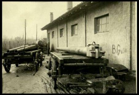 Laboratorio d'artiglieria a Cervignano
