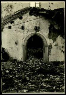 Rovine della chiesa di Pec