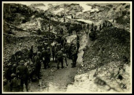 Truppe di rincalzo nel settore di Ortigara