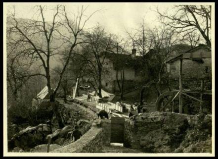 Il molino: segheria sul Rrsciach