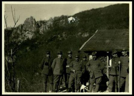 Il comando della batteria anti aerea di Pleka Spica