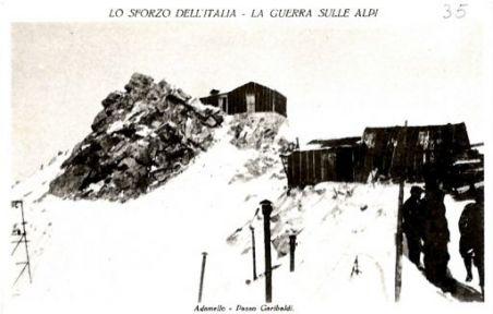 Adamello. Passo Garibaldi
