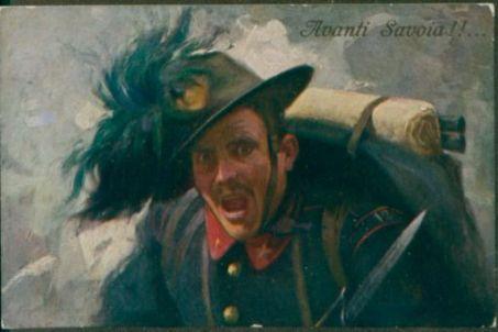 Avanti Savoia!!... / A. D. Campestrini