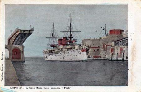 Taranto, R. Nave Marco Polo ( passando il ponte)