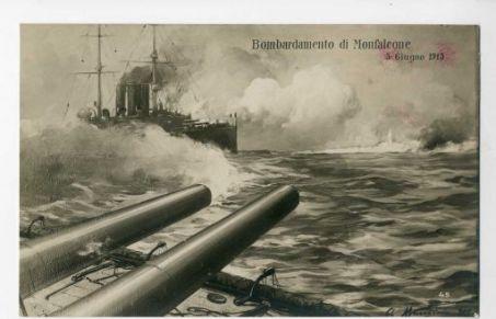 Bombardamento di Monfalcone, 5 giugno 1915 / A. Marchisio