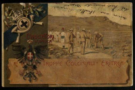 Cacciatori d'Africa. R.o Corpo Truppe Coloniali - Eritrea
