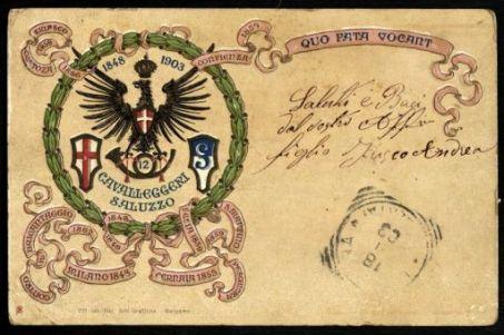 1848-1903. 12° Cavalleggeri Saluzzo