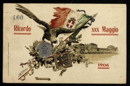 Ricordo XXX Maggio 1906. 5° Regg.to Artig. / P. Tozzi