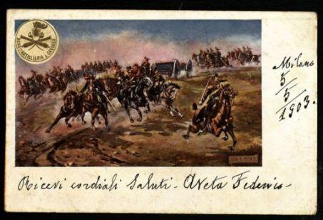 Reggimento Artiglieria a cavallo / Minaldi