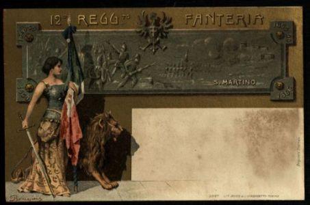 12° Regg.to Fanteria / Biagini