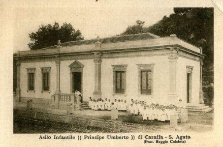 Asilo Infantile (Principe Umberto) di Caraffa,  S.Agata (prov. Reggio Calabria)